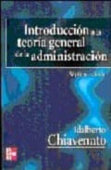 Lofficielhommes.es Introduccion A La Teoria General De La Administracion (7ª Ed.) Image