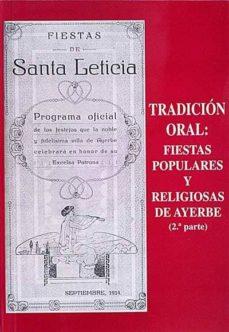 Mrnice.mx Tradición Oral: Fiestas Populares Y Religiosas De Ayerbe. (2a Parte) Image