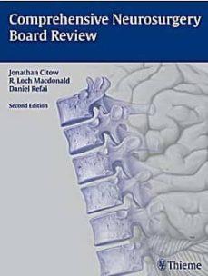 Descargas de libros de texto pdf COMPREHENSIVE NEUROSURGERY BOARD REVIEW (2ª ED.) ePub
