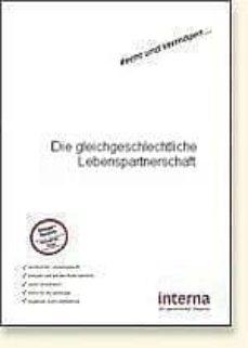 die gleichgeschlechtliche lebenspartnerschaft (ebook)-christina klein-9783937887517