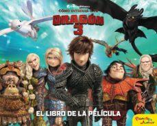 como entrenar a tu dragon 3 (el libro de la pelicula)-9788408201717