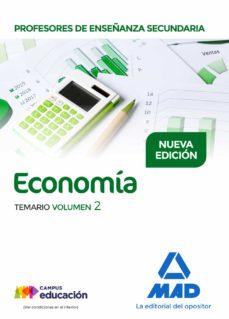 profesores de enseñanza secundaria economia: temario (vol. 2)-9788414208717