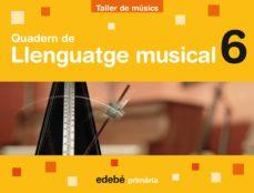 Cdaea.es Quadern Musica 6º Primaria Bon Pas Ed 2009 Catala Image
