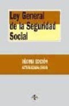 Vinisenzatrucco.it Ley General De La Seguridad Social (10ª Ed.) Image