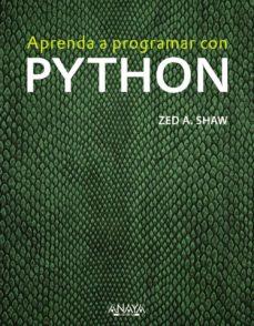 aprenda a programar con python-zed a. shaw-9788441536517