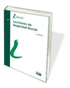 Followusmedia.es Lecciones De Seguridad Social, 2012(3ª Ed) Image