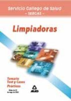 Inmaswan.es Limpiadoras (Sergas): Temario, Test Y Casos Practicos Image