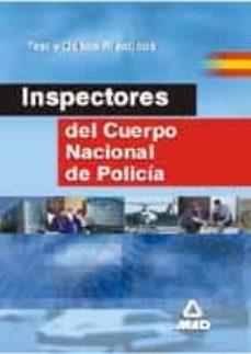 Mrnice.mx Inspectores Del Cuerpo Nacional De Policia: Test Y Casos Practico S Image