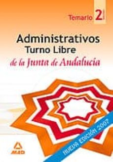 Valentifaineros20015.es Administrativos De La Junta De Andalucia. Turno Libre. Temario (V Ol. Ii) Image