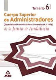 Costosdelaimpunidad.mx Cuerpo Superior De Administradores De La Junta De Andalucia. Especialidad Administradores Generales (A.1100). Temario. Volumen Image