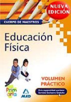 Chapultepecuno.mx Cuerpo De Maestros. Educacion Fisica. Volumen Practico Image