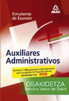 Colorroad.es Auxiliares Administrativos Del Servicio Vasco De Salud-osakidetza : Simulacros De Examen Image