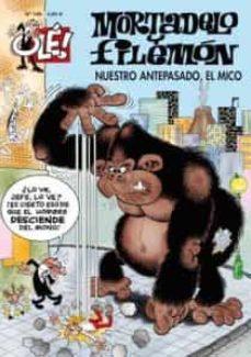 Inmaswan.es Ole Mortadelo N.º 186: Nuestro Antepasado, El Mico Image