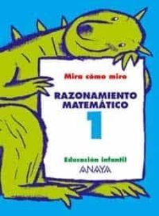 Descargar audiolibros de dominio público RAZONAMIENTO MATEMATICO 1 (EDUCACION INFANTIL, 3-5) 9788466745017 ePub PDB in Spanish de MARIA ISABEL FUENTES ZARAGOZA, ANA PINAR VELIX