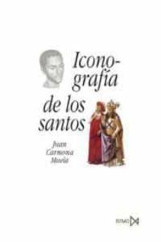 iconografia de los santos-juan carmona muela-9788470904417