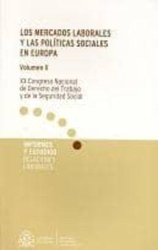 Ojpa.es Mercados Laborales Y Las Politicas Sociales En Europa Image
