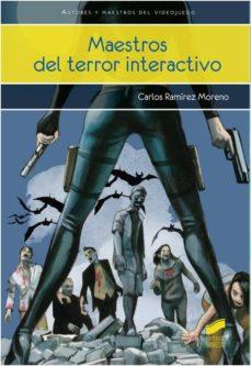 maestros del terror interactivo-carlos ramirez moreno-9788490770917