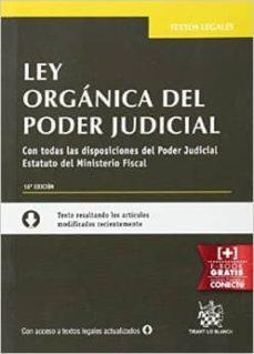 Permacultivo.es Ley Organica Del Poder Judicial. 16ª Edicion Image