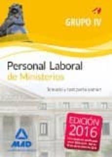 Inmaswan.es Personal Laboral De Ministerio Grupo Iv: Temario Y Test Parte Comun Image