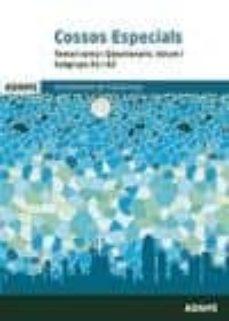 """cossos especials temari comú i q""""estionaris. volum i subgrups a1 i a2-9788491470717"""