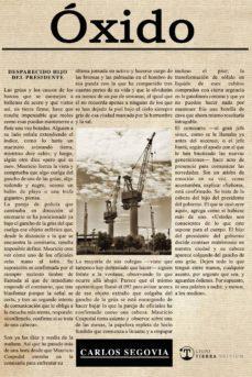 Descargar archivos pdf de libros gratuitos. ÓXIDO de CARLOS SEGOVIA 9788494937217 PDF DJVU (Spanish Edition)