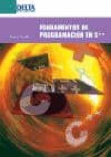 Descargar FUNDAMENTOS DE PROGRAMACION EN LENGUAJE C++ gratis pdf - leer online