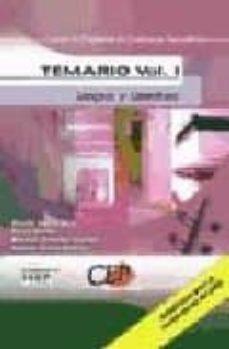 Concursopiedraspreciosas.es Cuerpo De Profesores De Enseñanza Secundaria: Lengua Y Literatura : Temario (Vol.1) Image