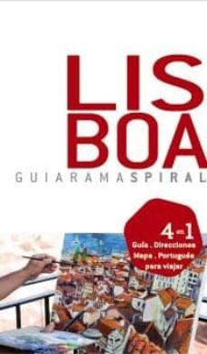 Concursopiedraspreciosas.es Lisboa 2010 (Guiarama Espiral): 4 En 1: Guia, Direcciones, Mapa, Ingles Para Viajar Image