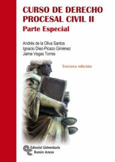 Descargar CURSO DE DERECHO PROCESAL CIVIL II: PARTE ESPECIAL gratis pdf - leer online
