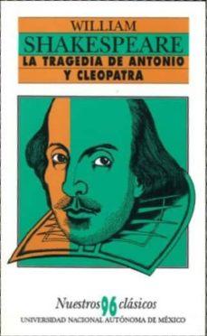 la tragedia de antonio y cleopatra-william shakespeare-9789683691217