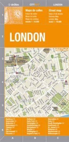 londres, city map: (1:16500)-9789879445617
