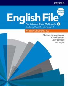 Compartir la descarga de libros electrónicos ENGLISH FILE PRE- INTERMEDIATE  (MULTIPACK B) STUDENT BOOK/WORK BOOK 4ED de