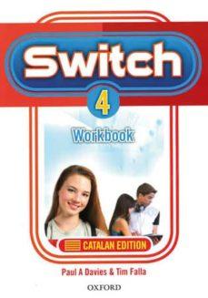 Curiouscongress.es Switch 4 Workbook (Catalan) (Es) Image