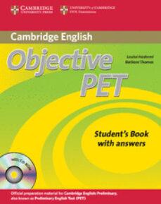 Descargar OBJECTIVE PET : STUDENT S BOOK PACK ) gratis pdf - leer online