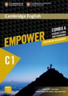 Descargar libros archivos pdf CAMBRIDGE ENGLISH EMPOWER ADVANCED COMBO A (SPLIT EDITION) (STUDENT S BOOK A & WORKBOOK A WITH ONLINE ASSESSMENT & PRACTICE) (Literatura española)