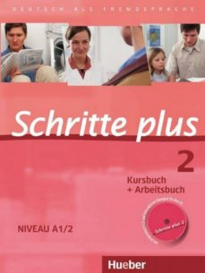 Descargar libros en linea pdf SCHRITTE PLUS 2. NIVEAU A1/2. KURSBUCH + ARBEITSBUCH MIT AUDIO-CD ZUM ARBEITSBUCH: DEUTSCH ALS FREMDSPRACHE de  9783190119127