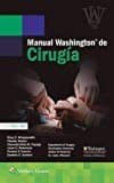 Amazon kindle libros descargables MANUAL WASHINGTON DE CIRUGÍA (7ª ED.) 9788416353927 de MARY E. KLINGENSMITH ePub in Spanish