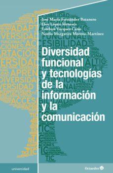 diversidad funcional y tecnologías de la información y la comunicación (ebook)-9788417219727