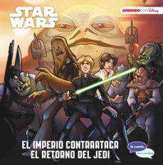 star wars: el imperio contraataca. el retorno del jedi (te cuento , me cuentas una historia disney)-9788417630027