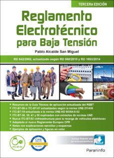 Ebook descargas de libros electrónicos gratis REGLAMENTO ELECTROTECNICO PARA BAJA TENSION (ED. 2017)  (Literatura española)