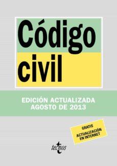 Encuentroelemadrid.es Codigo Civil (32ª Ed) Image