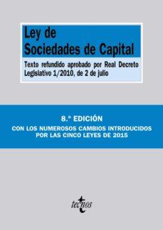 Cronouno.es Ley De Sociedades De Capital (8ª Ed.) Image