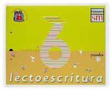 Chapultepecuno.mx Lectoescritura I (Nivel 6): Pauta (5 Años. Educacion Infantil) Image