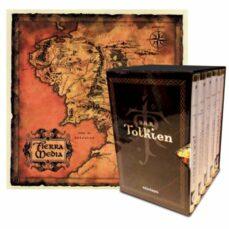 estuche tolkien 6 vols. + mapa + postales-j.r.r. tolkien-9788445005927