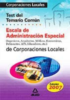 Relaismarechiaro.it Escala De Administracion Especial De Corporaciones Locales: Test Temario Comun Image