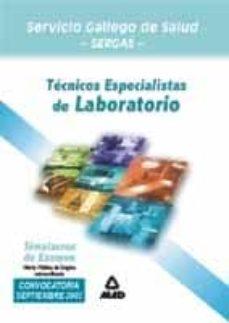 Titantitan.mx Tecnico Especialista De Laboratorio Del Servicio Gallego De Salud : Simulacros De Examen Image