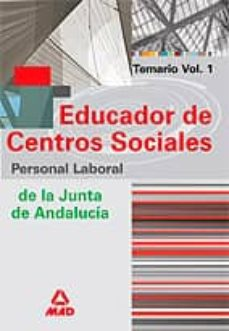 Officinefritz.it Educador De Centros Sociales. Personal Laboral De La Junta De And Alucia (Vol. I) Image