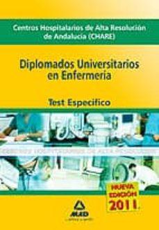 Bressoamisuradi.it Diplomado Universitarios En Enfermeria De Centros Hospitalarios D E Alta Resolucion De Andalucia (Chares): Test Especifico. Image