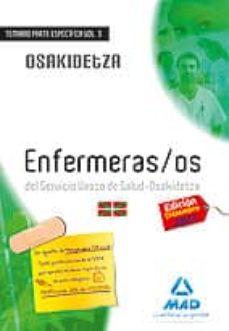 Permacultivo.es Enfermeros Del Servicio Vasco De Salud-osakidetza. Temario Parte Especifica Volumen Iii Image