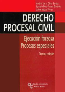 Eldeportedealbacete.es Derecho Procesal Civil: Ejecucion Forzosa. Procesos Especiales (3 ª Ed.) Image